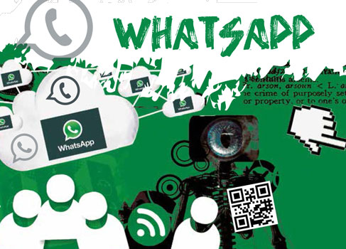 Cover des Flyers Whatsapp © Herausgeber: klicksafe.de, Handysektor.de in Kooperation mit Saferinternet.at