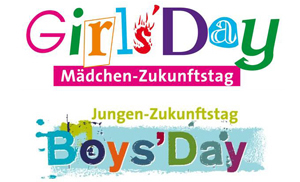 Logo Girls Day und Boys Day © girls-day.de und boys-day.de